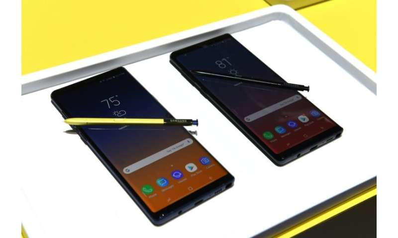 Samsung's Galaxy Note 9 has received favourable reviews and the electronics giant is due to launch a new line up of its flagship