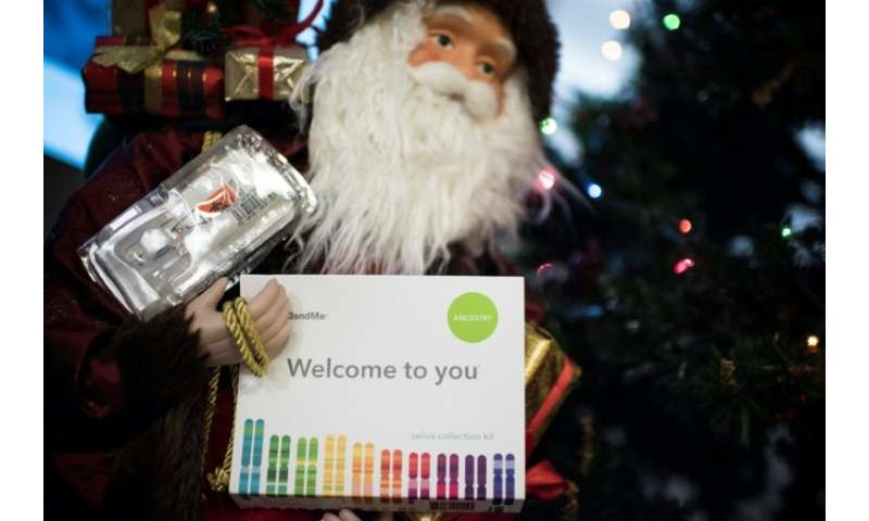 Santa offers a chance this Christmas to carry out DNA tests that could reveal unknown ancestry or long-long relatives