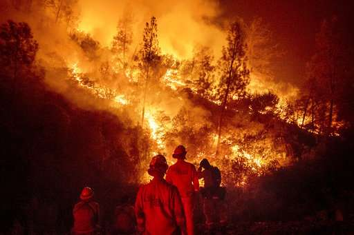 Science Says: 'The warmer it is, the more fire we see'