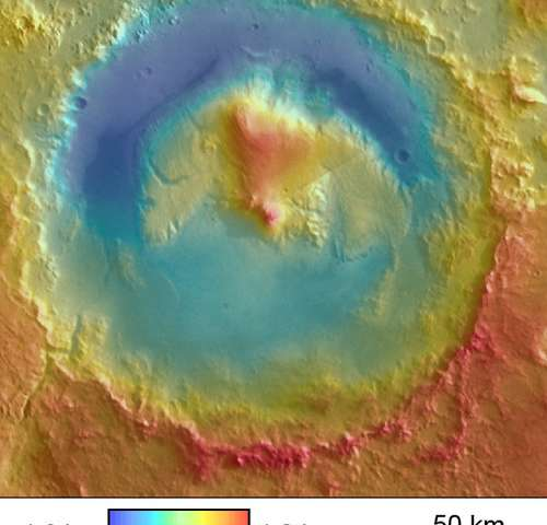 Scientist's work may provide answer to Martian mystery