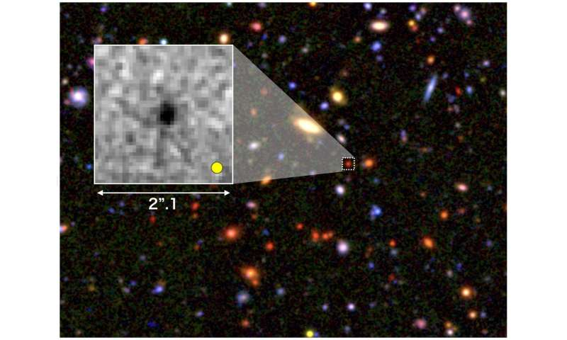 7783f15d8e Seeds of giant galaxies formed in the early universe