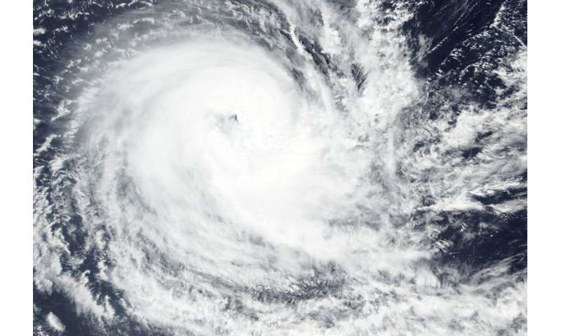 Seeing double: Tropical Cyclone Kenanga same strength as other storm