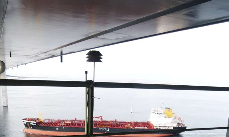 Ships in the English Channel have highest rate of sulphur violations in northern Europe