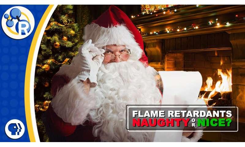 Should Santa wear a flame-retardant suit? (video)