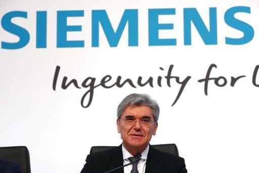 Siemens delivers upbeat outlook despite profit drop