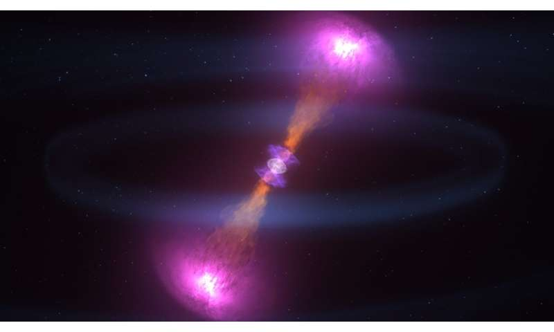 Signals from a spectacular neutron star merger that made gravitational waves are slowly fading away