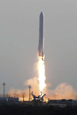S. Korea conducts successful rocket engine test