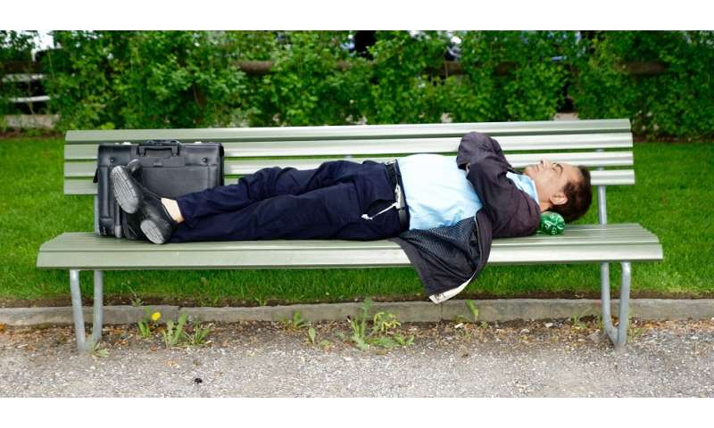 Sleep-deprived brains may be asleep and awake at the same time