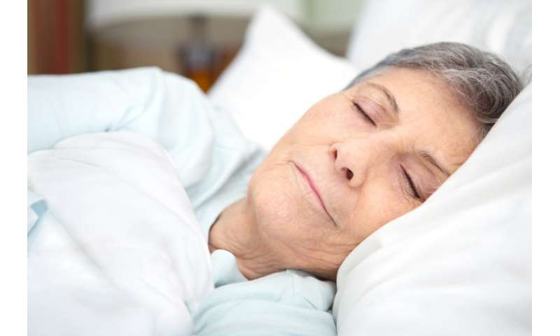 Sleep quality improves with help of incontinence drug