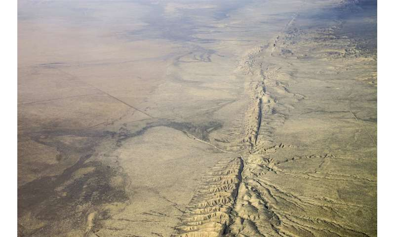 'Slow earthquakes' on San Andreas Fault increase risk of large quakes, say ASU scientists