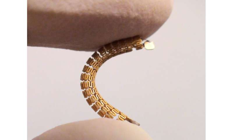 'Smart stent' detects narrowing of arteries