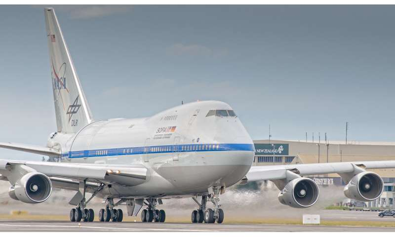 SOFIA to study southern skies in New Zealand