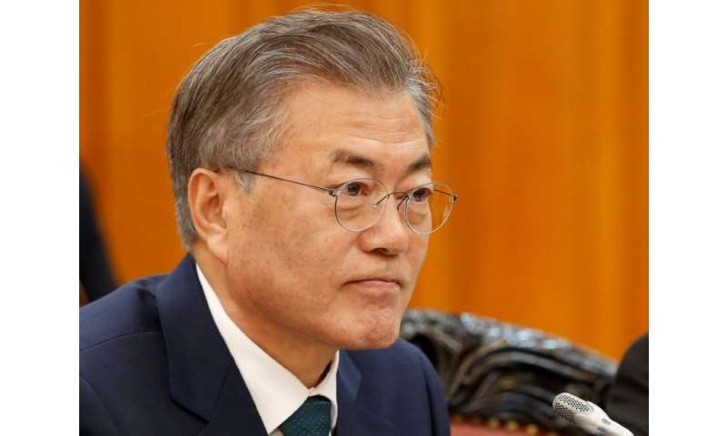 South Korea's President Moon Jae-in is visiting the United Arab Emirates