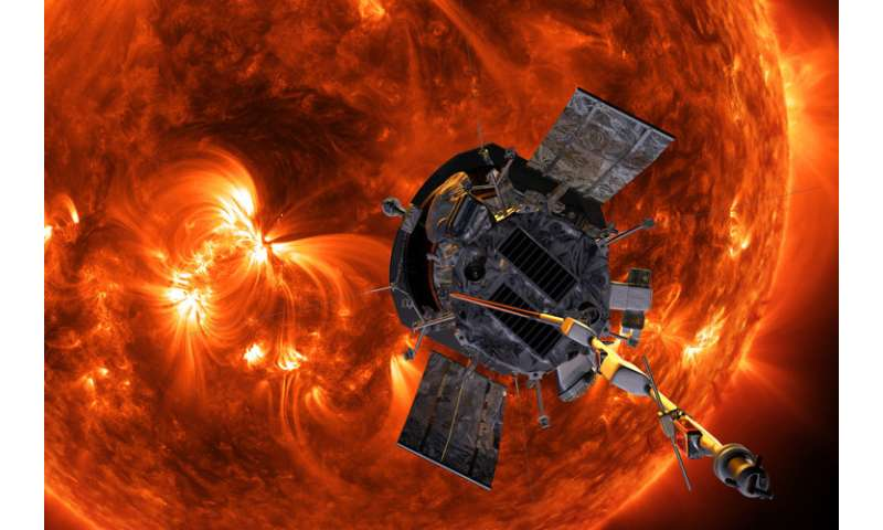 Space probe to plunge into fiery corona of the sun