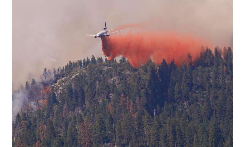 Spiraling wildfire fighting costs are largely beyond the Forest Service's control