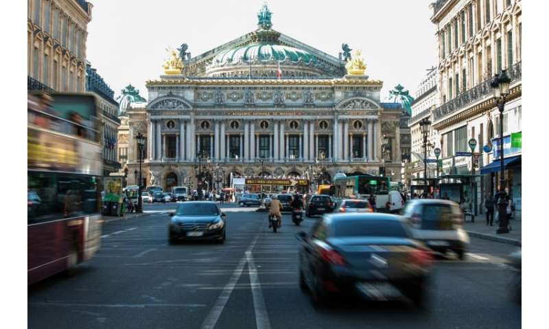 Starting in October, six historic districts in central Paris will remain traffic-free on the first Sunday of every month, includ