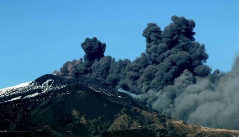 Still erupting after 2,700 years or more