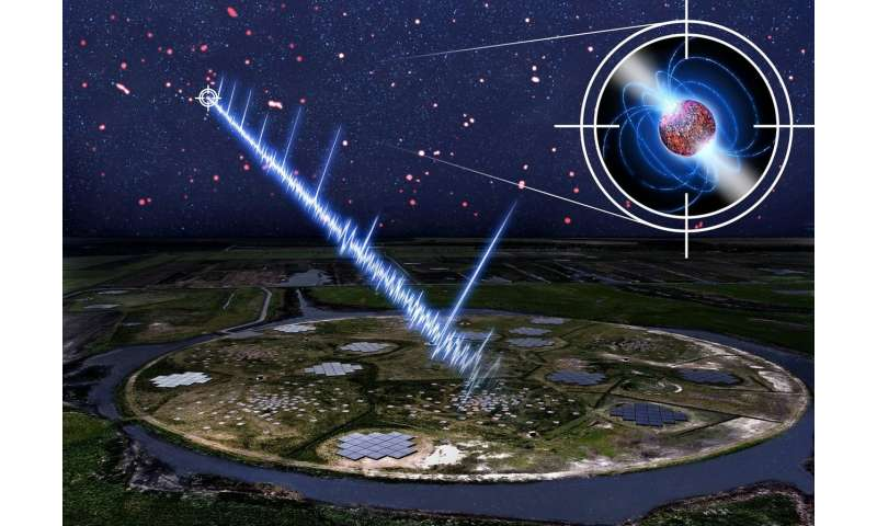 Student discovers slowest ever pulsar star