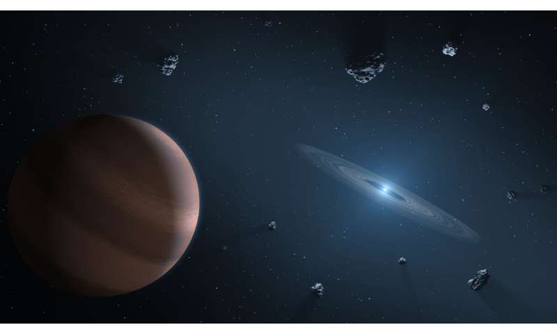 Study of material surrounding distant stars shows Earth's ingredients 'pretty normal'