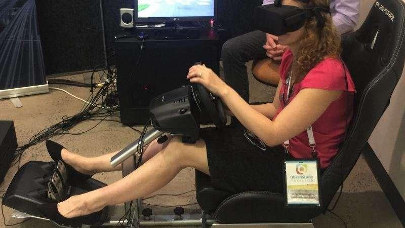 Study uses virtual reality to measure drug driving behaviour