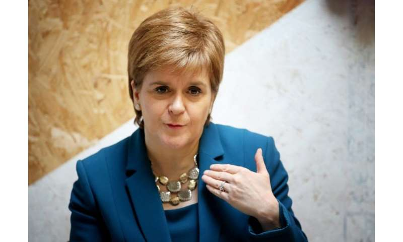 """Sturgeon said Scotland """"is the first country in the world being bold enough and brave enough to introduce minimum unit pric"""