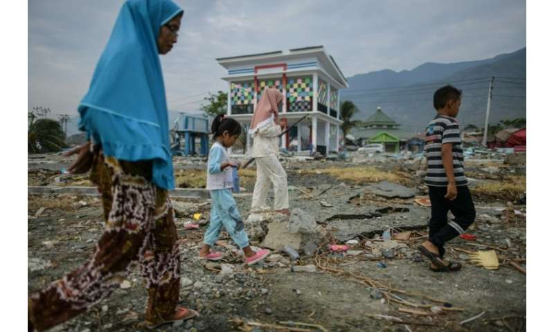 The island of Sulawesi has already been hit by last Friday's double tragedy that killed more than 1,400 people