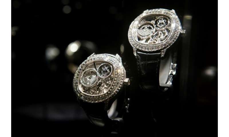 Swiss company Richemont owns several of the world's leading luxury brands including the Piaget jewellery label