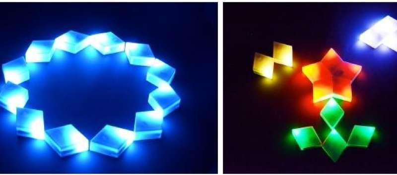 Synchronized fluctuation-type art illumination