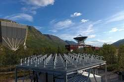 Taking near-Earth space research to the next level with Arctic phased array radars
