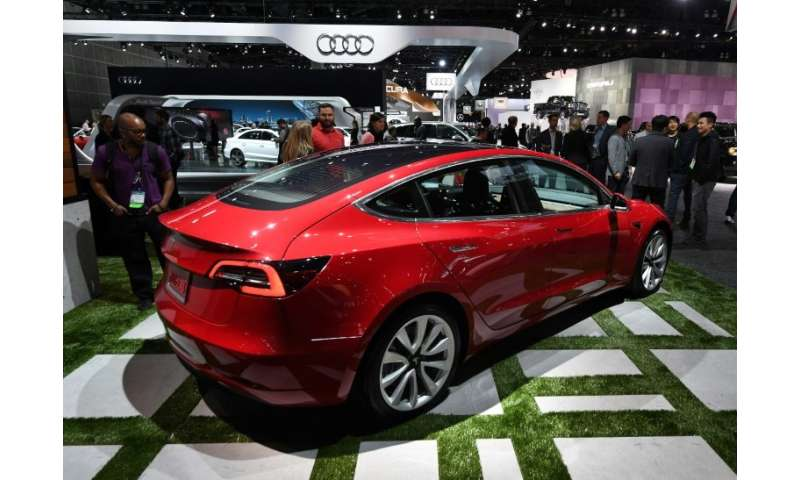 Tesla chief Elon Musk said a company reorganization aims to speed up production of the Model 3, a key to expansion of the electr