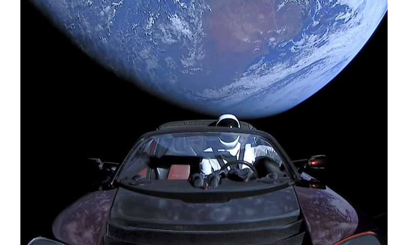 Tesla shot into space will likely collide with Earth or Venus – in millions of years: U of T researchers