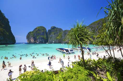 Thai beach from DiCaprio movie gets breather from tourists