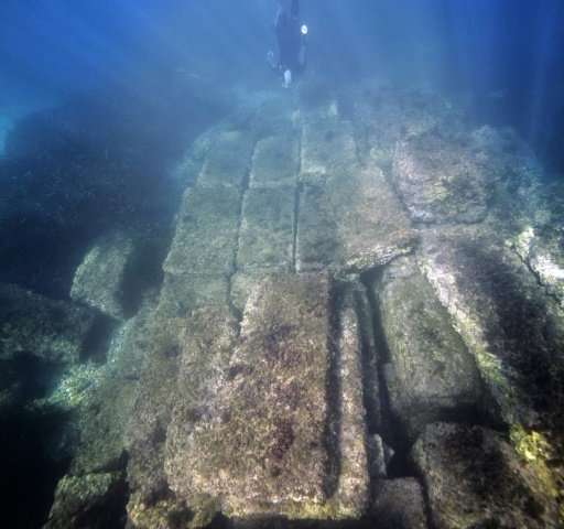 The 100-metre (yard) dock was only used for 80 years, according to Riaudel