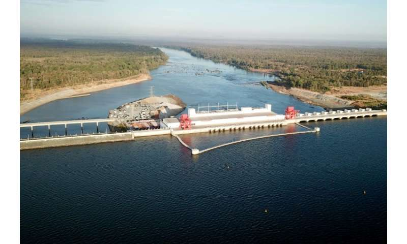 The 400 megawatt Lower Sesan 2 hydropower porject cost $780 million and is designed to boost Cambodia's energy supply