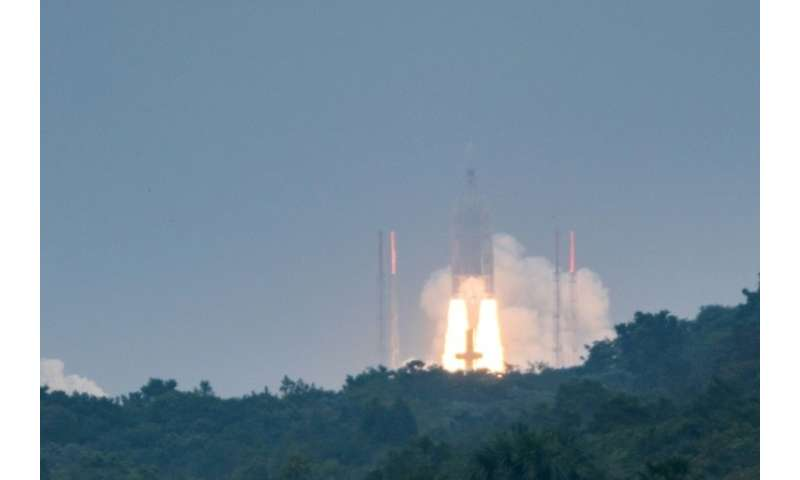 The Ariane 5 usually has a reputation for reliability