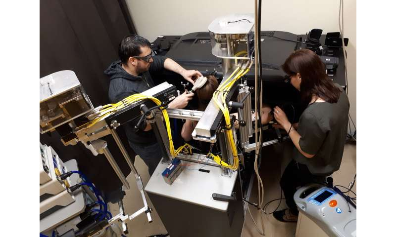 The brain is able to anticipate painful movements following injury