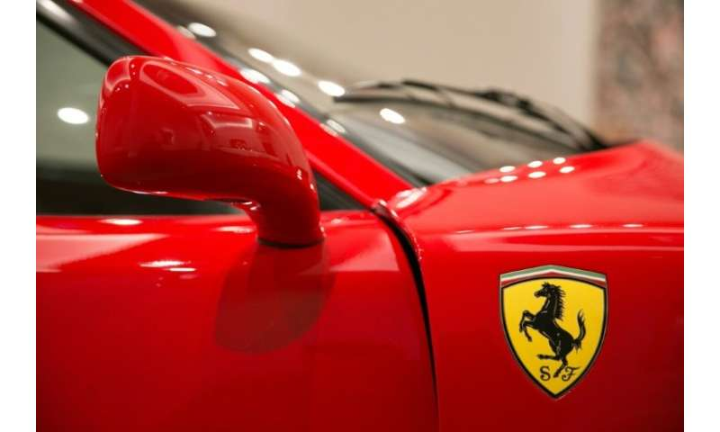 The bulk of Ferrari sales was in Europe, the Middle East and Africa