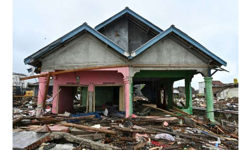 The desperate exodus underlines the level of fear along Indonesia's gutted coastline after the volcano-triggered tsunami struck