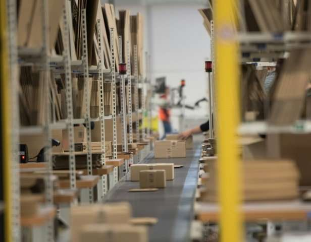 The extensive logistics infrastructure of Amazon gives it an advantage against clothing retailers.