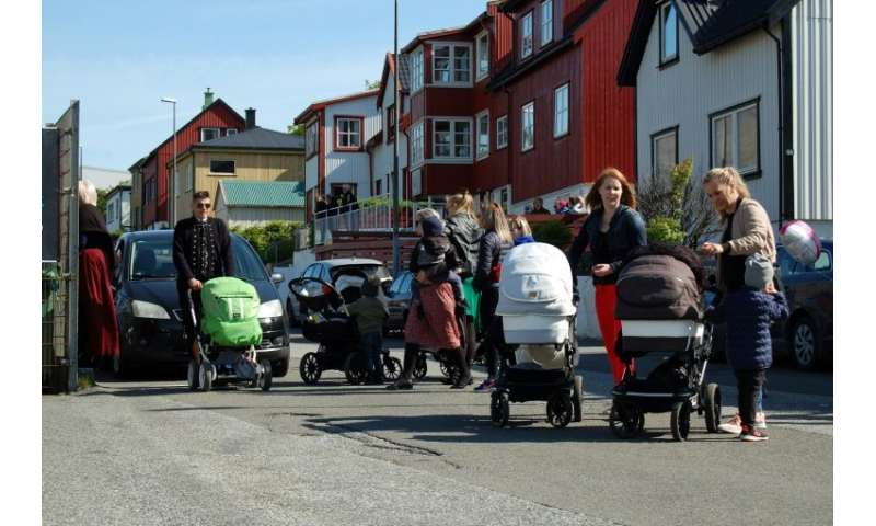 The Faroe Islands has had the highest birth rate in Europe for decades, with around 2.5 children per woman, according to World B