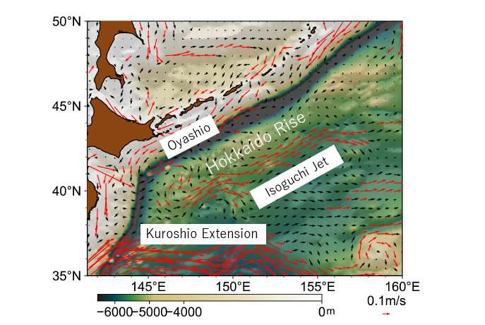 The far-reaching effects of ocean floors on the sea surface
