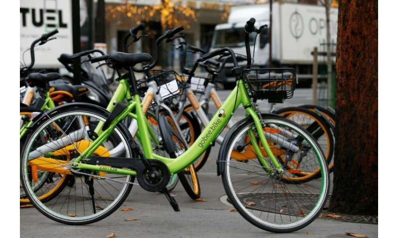 The Gobee.bike service in France has been terminated because of vandalism and thefts