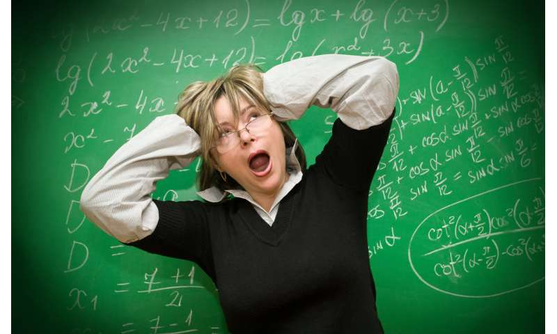The hidden threat of teacher stress