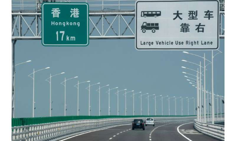 The Hong Kong-Zhuhai-Macau Bridge was nine years in the making