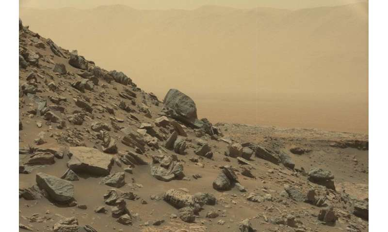The hunt for life on Mars—new findings on rock 'chimneys' could hold key to success