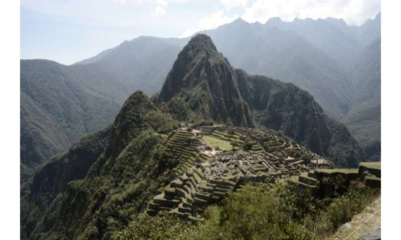 The Inca empire included the mountain-top citadel of  Machu Picchu
