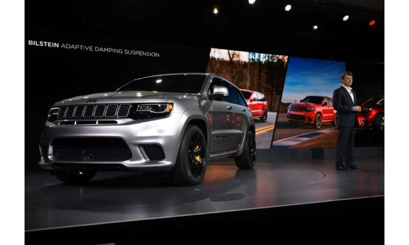 The Jeep Grand Cherokee will roll off the production line in Detroit at a new Fiat Chrysler plant due to open, the first new car