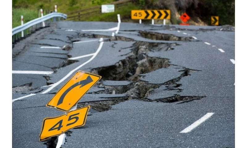 The Kaikoura earthquake raced north from the middle of New Zealand's South Island towards Cook Strait covering 170 kilometres in