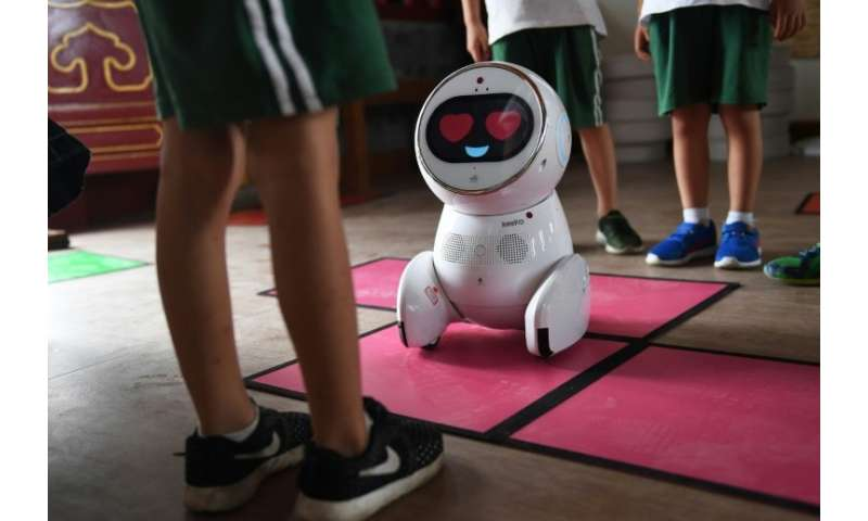 The Keeko robots cost about 10,000 yuan ($1,500)—roughly equivalent to the monthly salary of a Chinese kindergarten teacher