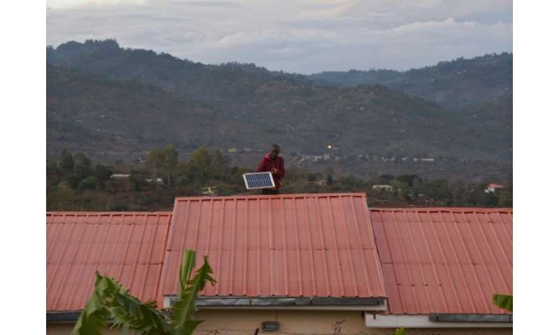 The lack of a secure electricity supply has seen some Kenyans install solar panels